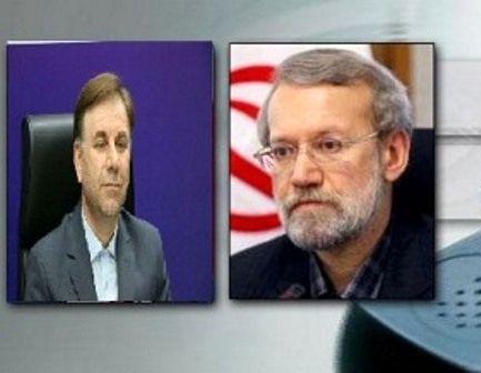 گفتوگوی تلفنی رئیس مجلس شورای اسلامی با استاندار گیلان